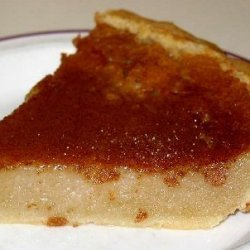 Canadian Sugar Cream Pie