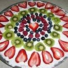 No Bake Fruit Pizza