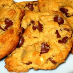 Peanut Butter Cookie With Milk Chocolate Morsels recipe