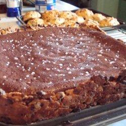 Chocolate Amp Pink Salt Tart