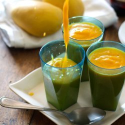 Mango-Papaya Smoothie