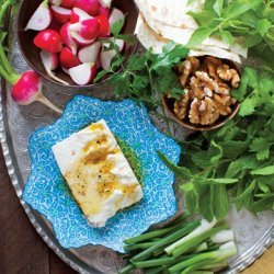 Fresh Herb Platter (Sabzi Khordan) recipe