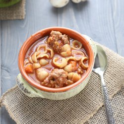 Meatball and Vegetable Soup