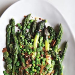 Pea, Asparagus, and Fava Bean Salad