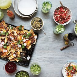 Nachos with All the Fixings recipe