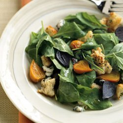 Roasted Asparagus and Baby Artichokes with Lemon-Oregano Aioli Recipe ...