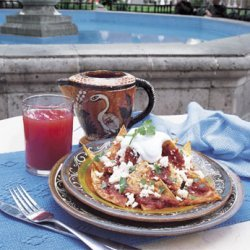 Chilaquiles in Chipotle Sauce recipe