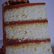 Fudge Frost Buttermilk Cake