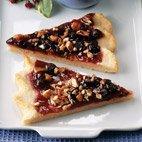 Blueberry Dessert Pizza