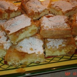 Cottage Cheese Sweet Pie -myzithropitakia recipe