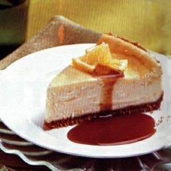 Orange Cheesecake With Orange Caramel Sauce recipe