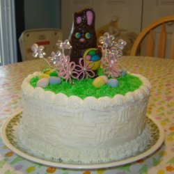 Easter Basket Cake My Version-for Peetabear recipe