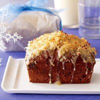Date Nut Cake With Coconut Frosting