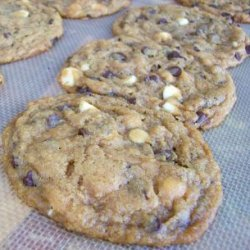 Deliciously Chewy Double Chip Cookies recipe