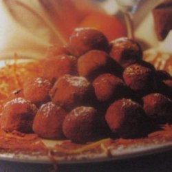Mimosa Truffles