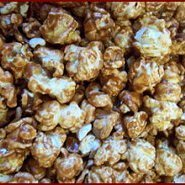 Butterscotch Almond Popcorn Yummy