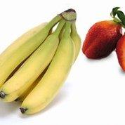 Healthy Strawberry Banana Yogurt Treat