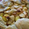 Apple Peach And Pear Galette