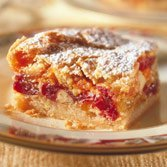 Brandied Cranberry-apricot Bars