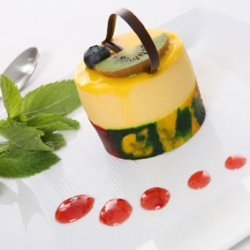 Mango And Lemon Cloud Jello Desserts
