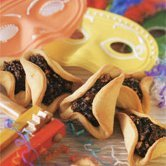 Traditional Purim Treats- Three Hamantashen