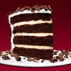 Devils Food Cake With Peppermint Frosting