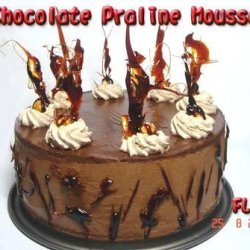 Chocolate Praline Mousse Cake recipe