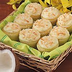Coconut Cupcakes From Taste Of Home Mag
