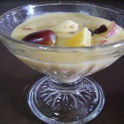 Home Made Fruit Custard