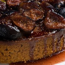 Fall Harvest Special Spiced Honey Cake With Carame...