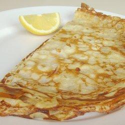 Simple Eggless English Pancakes recipe