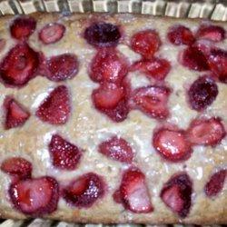 Strawberry Banana Nut Cake