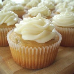 Banana Cupcakes W Cream Cheese Frosting