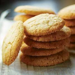 Sugar Cookies With Lime Essence