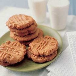 Big Super-nutty Peanut Butter Cookies