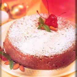 Cherry-almond Oat Cake