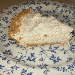 Coconut Cream Cheese Pie