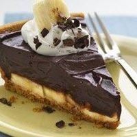 Chocolate-banana Cream Pie