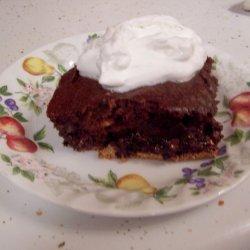 Organic Chocolate Fudge Brownie Cake