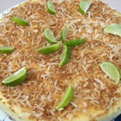 Key Lime Coconut Cheesecake
