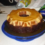Ron Magers Chocolate Flan Cake