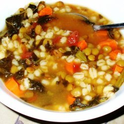 Cheap And Easy Lentil-barley Soup
