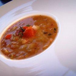 Zuppa Di Fagioli - Tuscan White Bean Soup