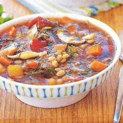 Tinks Beef Barley And Mushroom Soup