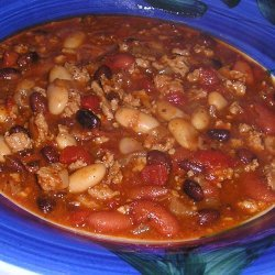 Darbars Fantastic Spicy Turkey Chili