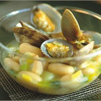 Salt Cod And Clam Stew