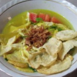 Indonesian  Lemongrass  Chicken Soup