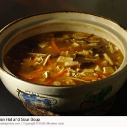 Ginger Hot And Sour Soup