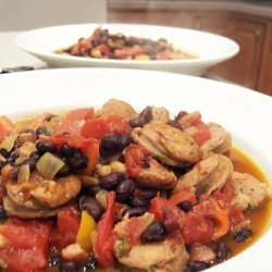Vanessas Chipotle Sausage Stew recipe