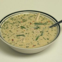 Tom Kha Gai Chicken In Coconut Milk Soup
